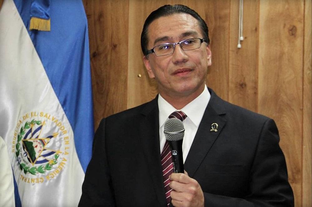 David Morales, procurador para la Defensa de lso Derechos Humanos (PDDH). Foto cortesía PDDH.