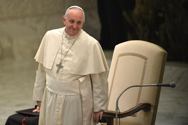 El papa Francisco, máximo jerarca de la Iglesia católica. AFP PHOTO / Foto Tiziana Fabi (AFP).