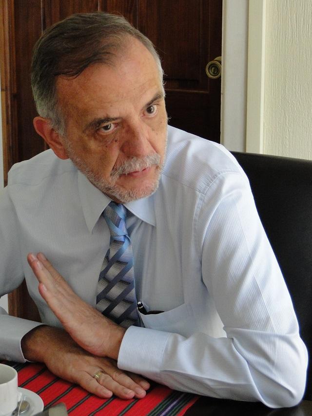 Iván Velásquez es un abogado colombiano. Antes de trabajar para la CICIG investigó el palamitarismo y el narcotráfico en Colombia y sus nexos con la política. Foto: cortesía de CICIG.