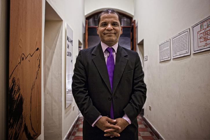 Óscar Ortiz, vicepresidente de El Salvador (2014-2019).