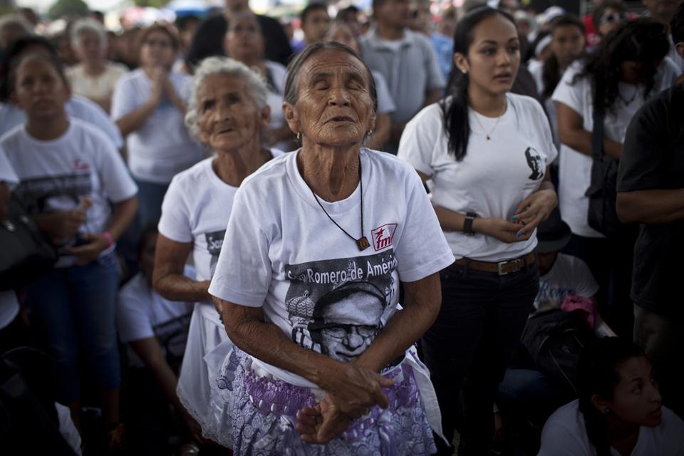Los peregrinos del beato Óscar Arnulfo Romero
